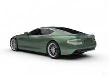 Aston Martin DB9 Coupe Touchtronic (2015-2015) Heck + links