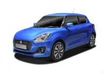 Suzuki Swift 1.2 Dualjet (seit 2017) Front + links
