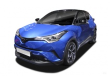 Toyota C-HR 1.2 Turbo (seit 2016) Front + links