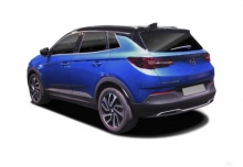 Opel Grandland X 1.2 Start/Stop (seit 2017) Heck + links