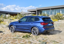 BMW X3 M40i (2017-2017) Heck + links