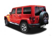 Jeep Wrangler Hard-Top 3.6 Automatik (2016-2017) Heck + links