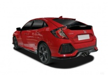 Honda Civic 1.5 i-VTEC Turbo (seit 2017) Heck + links