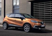 Renault Captur ENERGY TCe 90 (seit 2017) Front + rechts