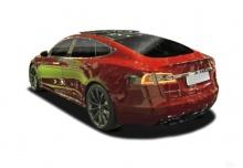 Tesla Tesla Model S 100D Allradantrieb (2017-2017) Heck + links