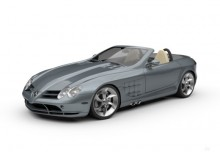 Mercedes-Benz SLR McLaren Roadster (2007-2009) Front + links