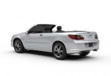 Chrysler Sebring Cabrio 2.7 Automatik (2008-2010) Heck + links