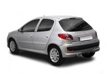 Peugeot 206+ 75 (2010-2013) Heck + links