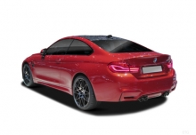 BMW M4 Coupe (2017-2017) Heck + links