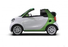 Smart smart fortwo cabrio electric drive (2017-2017) Seite links
