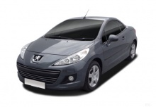 Peugeot 207 CC FAP 110 (2014-2014) Front + links