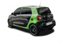Smart smart forfour electric drive (seit 2017) Heck + links