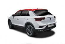VW T-Roc 1.0 TSI (seit 2017) Heck + links
