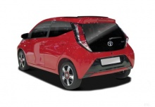 Toyota Aygo (seit 2014) Heck + links