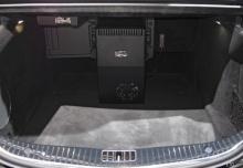 Mercedes-Benz S 560 9G-TRONIC (seit 2017) Laderaum