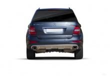 Mercedes-Benz ML 450 CDI 4Matic 7G-TRONIC DPF (2010-2011) Heck
