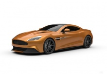 Aston Martin Vanquish Coupe (2013-2013) Front + links