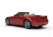 Cadillac XLR-V (2008-2010) Heck + links