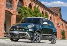 Fiat 500L Urban 1.4 16V (seit 2017) Front + links