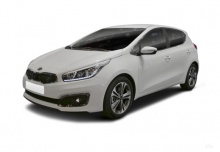 Kia Ceed 1.0 T-GDI 100 ISG (seit 2016) Front + links