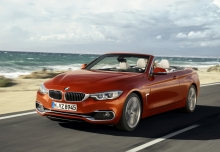 BMW 430i Cabrio (seit 2017) Front + links