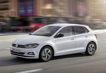 VW Polo 1.0 (seit 2017) Front + links