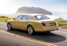 Bentley Mulsanne (seit 2016) Heck + links