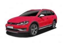 VW Golf Variant 2.0 TDI 4Motion DSG (seit 2017) Front + links