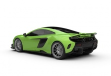 McLaren 675LT (2015-2015) Heck + links