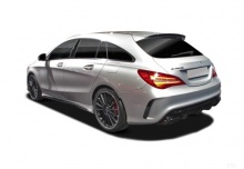 Mercedes-Benz AMG CLA 45 4Matic Shooting Brake AMG Sp.sh. 7G-DCT (2017-2017) Heck + links
