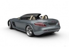 Mercedes-Benz SLR McLaren Roadster (2007-2009) Heck + links