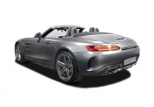 Mercedes-Benz AMG GT C Roadster AMG Speedshift 7G-DCT (2016-2016) Heck + links