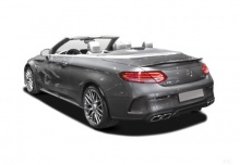 Mercedes-Benz AMG C 43 Cabrio 4Matic 9G-TRONIC (2017-2017) Heck + links