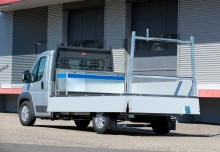 Citroen Jumper 33 L1 (seit 2016) Heck + links