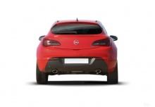 Opel Astra GTC 1.4 Turbo (2017-2017) Heck