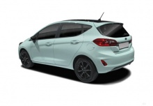 Ford Fiesta 1.5 TDCi (seit 2017) Heck + links