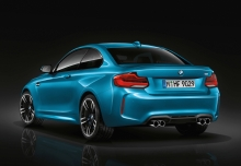 BMW M2 Coupe (2017-2017) Heck + links