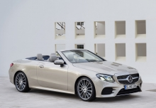 Mercedes-Benz E 400 4Matic Cabrio 9G-TRONIC (seit 2017) Front + rechts