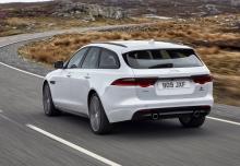 Jaguar XF 25t Sportbrake (seit 2017) Heck + links