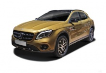 Mercedes-Benz GLA 180 (seit 2017) Front + links