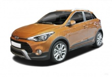Hyundai i20 blue 1.0 Active (seit 2016) Front + links