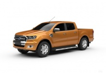 Ford Ranger Extra Autm. (2016-2016) Front + links
