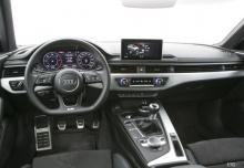 Audi A4 Avant 2.0 TFSI quattro (seit 2017) Armaturenbrett