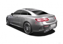 Mercedes-Benz E 200 Coupe (seit 2017) Heck + links