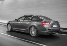Maserati Ghibli (seit 2017) Heck + links