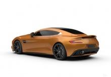 Aston Martin Vanquish Coupe (2013-2013) Heck + links
