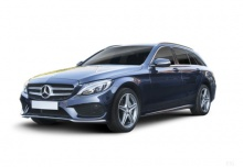 Mercedes-Benz C 200 T 9G-TRONIC (seit 2016) Front + links