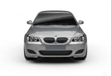 BMW 545i Touring (2004-2005, E61) Front
