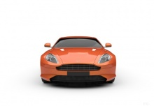 Aston Martin Virage Coupe Touchtronic (2012-2012) Front