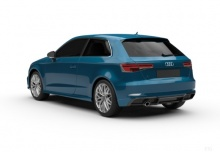 Audi S3 (seit 2016) Heck + links
